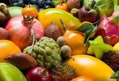 Kleines ABC exotischer Früchte Superfood, Mango, Vegetables, Winter, Low Fiber Foods, Exotic Fruit, Hay Diet, New Recipes, Manga