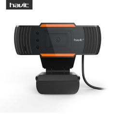 HAVIT High Quality USB Webcams Black PC Web Cam Camera for Computer Laptop Desktop Tv Webcam Without Driver HV-N5086