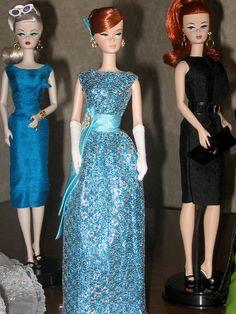 Silkstone Barbies.