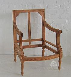 Louis Tub Chair / Louis XVI Tub Chair / Dutch Connection