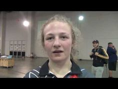 Macey Kilty (WI), 2017 Girls Junior Folkstyle Nationals 117 champion