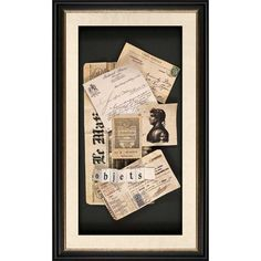 Objets Shadowbox - Very cool