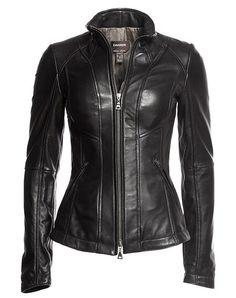 2f399fcb0 New Genuine Leather Lambskin Women Biker Motorcycle Jacket For Ladies