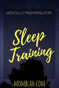 Sleep training only works when the parents choose a method and remain consistent with it. Here's a few ways you can prepare yourself and guarantee success!