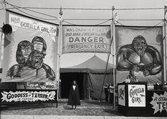 Count Nicholas's Gorilla Show, Godding Amusements, Maumee, Ohio, 1974. All photographs: Randal Levenson