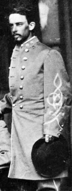 Civil War Confederate Army Officer. Born in Norfolk, Virginia, he graduated from the Virginia Military Institute in 1857...