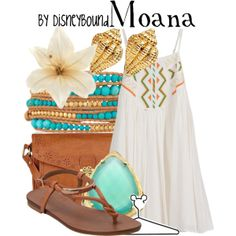 Disney Bound - Moana (From upcoming film Moana) Sooo excited! Moana Outfits, Cute Disney Outfits, Disney Themed Outfits, Disney Bound Outfits, Disney Dresses, Cute Outfits, Disney Clothes, Modern Disney Outfits, Disney Inspired Fashion