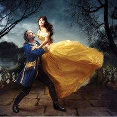 Jeff Bridges and Penelope Cruz Disney Dreams Portrait Series