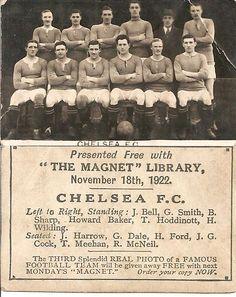 1922 Chelsea FC! | tak ada yg ku kenal, :D