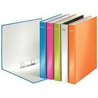 Leitz Wow Plus 2 D-Ring Binder 25 mm - Assorted, Pack of 10 Stationery Printing, Office Stationery, Tropical Pool, Folder Design, Golden Oak, Glass Blocks, Florida Home, Ring Binder, Hibiscus