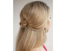 Peinado novia medio recogido suelto / peinado de novia