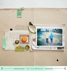 Let's Go | Autumn layout with video by Marcy Penner