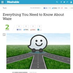 http://mashable.com/2013/06/12/what-is-waze/ Everything You Need to Know About Waze | #Indiegogo #fundraising http://igg.me/at/tn5/