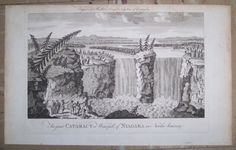 The Great Cataract Or Waterfall, Of Niagara In North America., English. (Published: J. Cooke 1777 London)