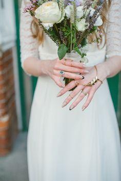 fierce bridal nails | Ellie Gillard Photography