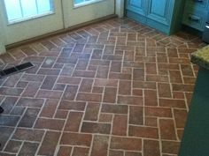 Entryways and hallways - Inglenook Brick Tiles Wright's Ferry Brick Tile ceramic tile that looks like brick