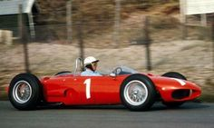 1962 Phil Hill, Scuderia Ferrari, Ferrari 156