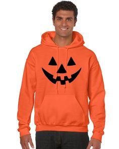Jack O Lantern funny pumpkin Man`s Hoodie`s Halloween costume