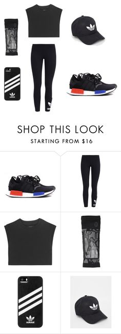 """work out"" by sh1004an on Polyvore featuring adidas Originals and adidas"