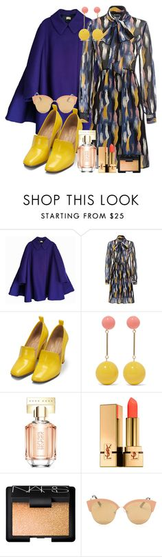 """70's Inspo"" by mpvargas ❤ liked on Polyvore featuring Acne Studios, Bill Blass, J.W. Anderson, HUGO, Yves Saint Laurent, NARS Cosmetics, posh, smartandstylish and 5280PoshAve"