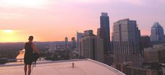 Austin's downtown skyline is quickly changing, but it remains magnetically photogenic. In this exclusive, we reveal 9 amazing rooftop photos of Austin. Seattle Skyline, New York Skyline, Rooftop, Amazing, Austin Tx, Travel, Photos, Rooftops, Viajes