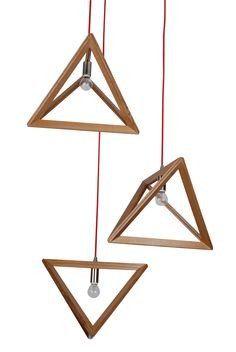 Forest Homes - Products - Minimal Triangles Pendant Light  #Light#Lighting #ceilinglights #outdoorlighting#lamp#pendantlighting#tablelamps