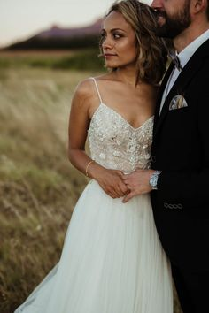 Intricate beaded bodice | Image by Julia Wade Photography