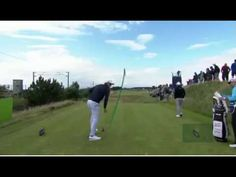 Adam Scott Strong Contender at The Open seen here ripping a 341 yards wi...