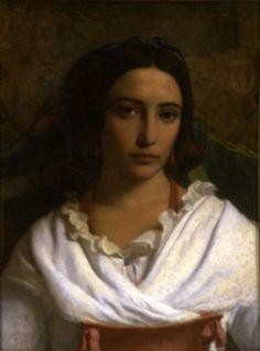 Italian Peasant Girl Leopold-Louis Robert Date: 18th–19th century