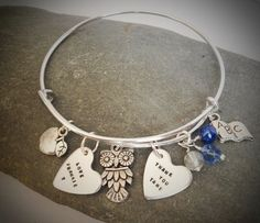 Jangly Bangly - very trendy and reasonably priced. Colours and charms to match all occasions!