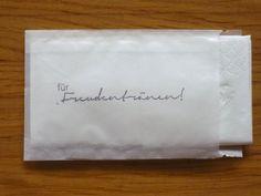 ♥ 50 Taschentücher & Tütchen FÜR FREUDENTRÄNEN ♥   von Malika-Shop auf DaWanda.com