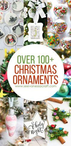christmas 100 handmade ornament ideas