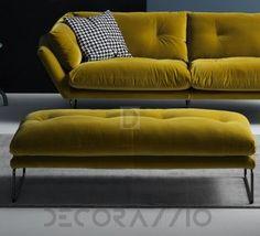 #pouffe #furniture #design #interior пуф Saba Italia New York Suit, SNN4G