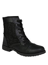HOTTOPIC.COM - Black Lace Boot