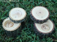 Rustic 4 Weddings: Rustic Wedding Ring Holder,