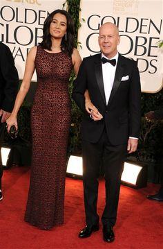 Bruce Willis with wife Emma Heming - I have always had a mad crush on Bruce