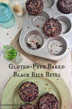 Gluten-free black bean bites by @The Healthy Apple
