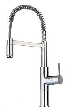 La Toscana by Paini 78PW556 Elba Pre-Rinse Kitchen Faucet, Brushed Nickel at PlumberSurplus.com    $340