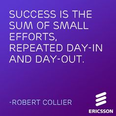If your days ever feel #repetitive, think of this #Ericsson Inspiration!