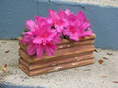 Custom Reclaimed Heart Pine Molding Wooden Box by dbkelley1973