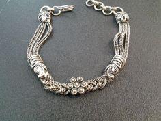 silver bracelet by wrightjewels on Etsy, £29.00