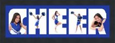 Cheerleader Gift. Love this,we got Kyla one,just need to get her pics printed up