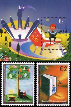 Kosovo - Europa 2010 Children's books stamps