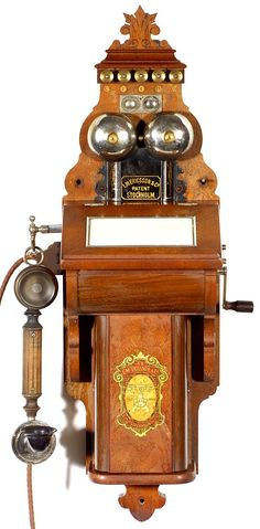 Antique Ericsson Wall Telephone Sold by Auction Team Brecker for €990