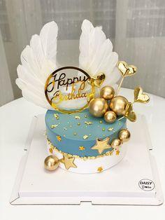 Creative Cake Decorating, Creative Cakes, Maggi Recipes, Cute Baking, Beautiful Birthday Cakes, Tier Cake, Cake Designs, Fondant, Happy Birthday