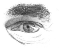 Man eye drawing tutorial. Mine always look like girl eyes