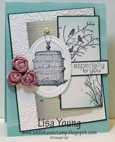 Serene Silhouettes CCMC249 by genesis - Cards and Paper Crafts at Splitcoaststampers
