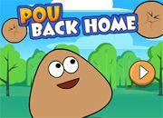 Pou Back Home | Garfis juegos online