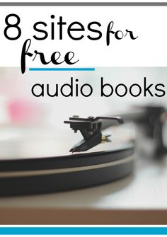 Resources for free audio books #ELA #SPED