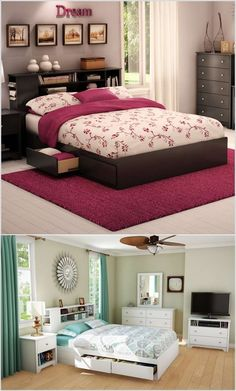 Clever Ideas To Use Bedroom Furniture For Storage #ArchitectureAndDesign